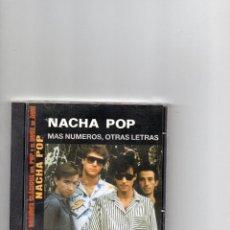 CDs de Música: CD - NACHA POP - MAS NUMEROS, OTRAS LETRAS - BUEN ESTADO. Lote 62371404