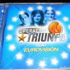 CDs de Música: LOTE 3 CD,S OPERACION TRIUNFO GALA EUROVISION EDICION LIMITADA BISBAL BUSTAMANTE ROSA. Lote 62379104