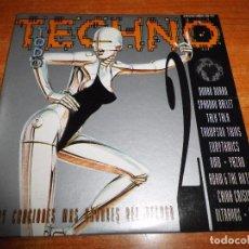 CDs de Música: TECHNO 2 CD MAXI SINGLE PROMO CARTON 1993 YAZOO TALK TALK SPANDAU BALLET NENA 5 TEMAS. Lote 211650379