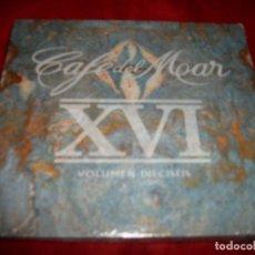 CDs de Música: CAFE DEL MAR - VOLUMEN DIECISEIS - DOBLE CD - PRECINTADO. Lote 62391040