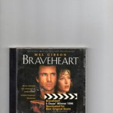 CDs de Música: CD - BRAVEHEART - ORIGINAL MOTION PICTURE SOUNDTRACK - BSO. Lote 62399364