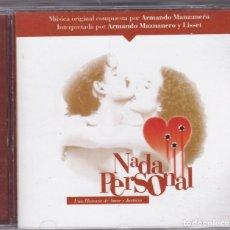 CDs de Música: ARMANDO MANZANERO,NADA PERSONAL DEL 2003. Lote 62452108