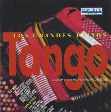 CDs de Música: LOS GRANDES ÉXITOS DEL TANGO - CD-ROM+CD AUDIO. Lote 62463960