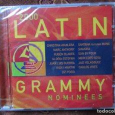 CDs de Música: LATIN GRAMMY NOMINEES 2000- CD -CON 14 TEMAS- ORIGINAL DEL 2000- PLASTIFICADO- ART. INTERNACIONALES . Lote 62470544