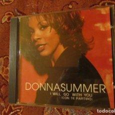 CDs de Música: DONNA SUMMER CD TITULO I WILL GO WITH YOU- ( CON TE PARTIRO' ) CON 9 TEMAS ORIGINAL DEL 99- NUEVO. Lote 62482360