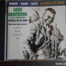 CDs de Música: LOUIS ARMSTRONG & HIS ORCHESTRA. Lote 62499144