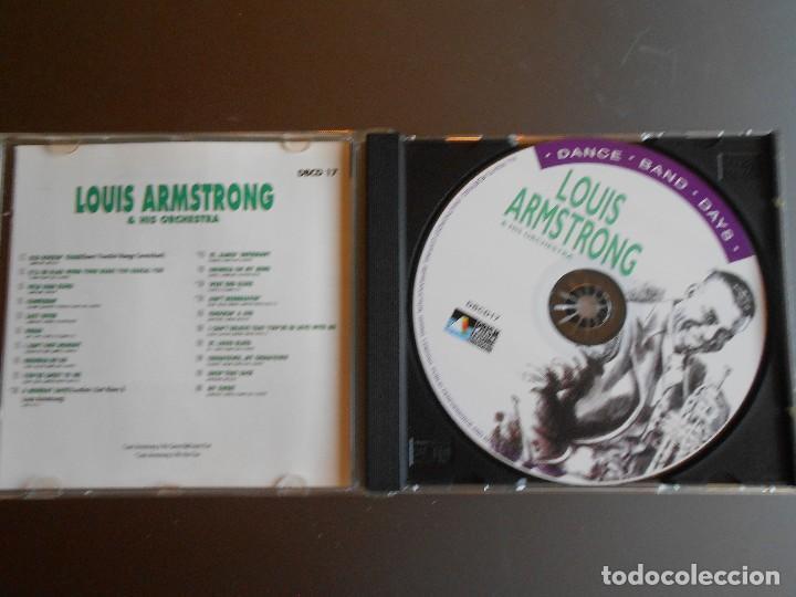 CDs de Música: LOUIS ARMSTRONG & HIS ORCHESTRA - Foto 3 - 62499144