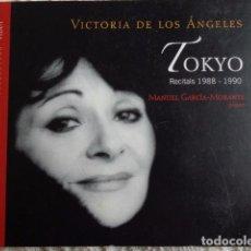 CDs de Música: VICTORIA DE LOS ÁNGELES - VICTÒRIA DELS ÀNGELS - TOKIO - RECITALES 1988-1990. Lote 62597776