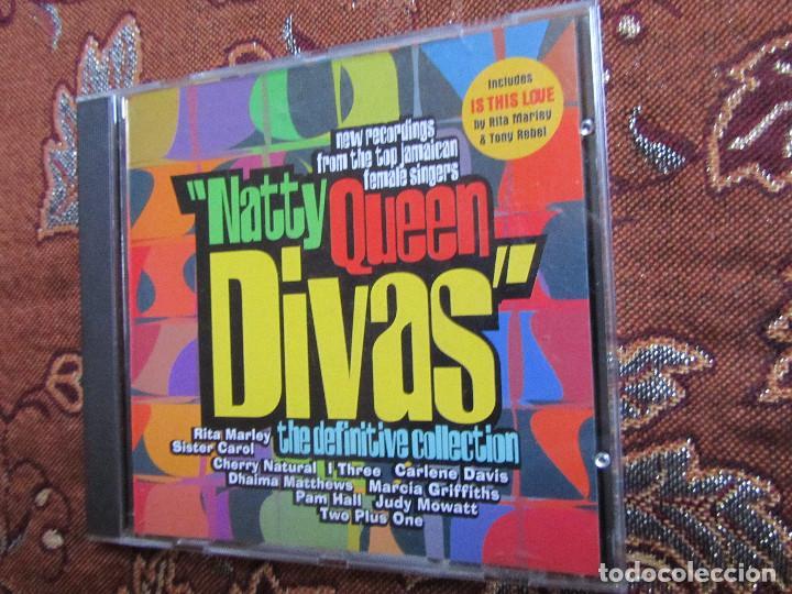 NATTY QUEEN DIVAS- CD TITULO DEFINITIVE COLLECTION- 12 TEMAS- ORIGINAL 97- NUEVO AUNQUE ABIERTO (Música - CD's Reggae)