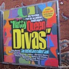 CDs de Música: NATTY QUEEN DIVAS- CD TITULO DEFINITIVE COLLECTION- 12 TEMAS- ORIGINAL 97- NUEVO AUNQUE ABIERTO. Lote 62677448