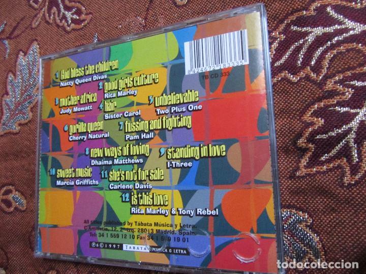 CDs de Música: NATTY QUEEN DIVAS- CD TITULO DEFINITIVE COLLECTION- 12 TEMAS- ORIGINAL 97- NUEVO AUNQUE ABIERTO - Foto 2 - 62677448
