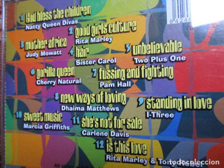 CDs de Música: NATTY QUEEN DIVAS- CD TITULO DEFINITIVE COLLECTION- 12 TEMAS- ORIGINAL 97- NUEVO AUNQUE ABIERTO - Foto 3 - 62677448