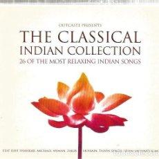 CDs de Música: DOBLE CD THE CLASSICAL INDIAN COLLECTION ( RAVI SHANKAR, MICHAEL NYMAN, KARSH KALE, KRONOS QUARTET . Lote 62699520
