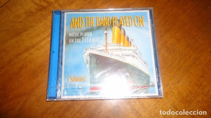 I SALONISTI - MUSIC PLAYED ON THE TITANIC , AND THE BAND PLAYED (Música - CD's Jazz, Blues, Soul y Gospel)