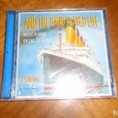 CDs de Música: I SALONISTI - MUSIC PLAYED ON THE TITANIC , AND THE BAND PLAYED. Lote 62875160