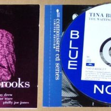 CDs de Música: TINA BROOKS: THE WAITING GAME (REMASTERED) - BLUE NOTE - JAZZ. Lote 62889688