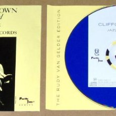 CDs de Música: CLIFFORD BROWN: JAZZ IMMORTAL (REMASTERED) - PACIFIC JAZZ. Lote 62890632