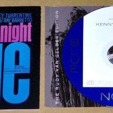 CDs de Música: KENNY BURRELL: MIDNIGHT BLUE (REMASTERED) - BLUE NOTE - JAZZ. Lote 62892072
