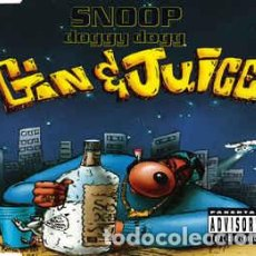 CDs de Música: SNOOP DOGGY DOGG – GIN AND JUICE. Lote 62932912