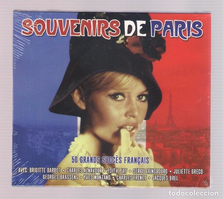 SOUVENIRS DE PARIS (2CD 2013, NOT2CD487) (Música - CD's World Music)