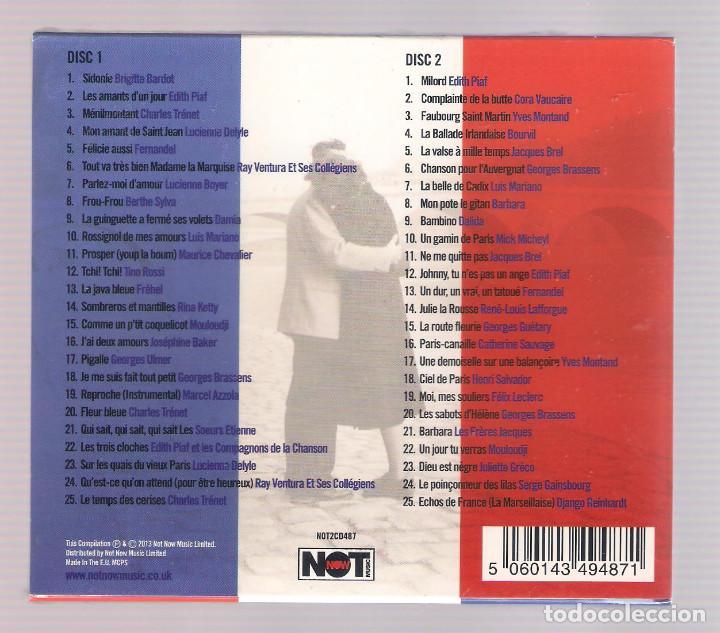 CDs de Música: SOUVENIRS DE PARIS (2CD 2013, NOT2CD487) - Foto 2 - 62969632