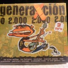 CDs de Música: GENERAXCION 2000 LOS FLECHAZOS PILDORA X AUTOMATICS MALCOM SCARPA NOSOTRASH INDIE POP. Lote 62989880