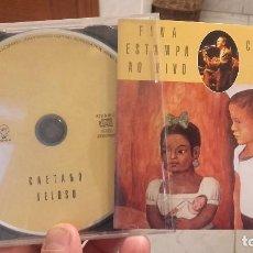 CDs de Música: CAETANO VELOSO, FINA ESTAMPA AO VIVO, CD. Lote 63036284