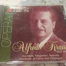 CDs de Música: ÓPERA. ALFREDO KRAUSS. DISCO CD.. Lote 63144440