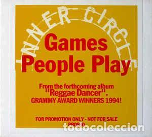 INNER CIRCLE - GAMES PEOPLE PLAY (CD, SINGLE, PROMO, DIG) (Música - CD's Reggae)