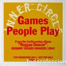 CDs de Música: INNER CIRCLE - GAMES PEOPLE PLAY (CD, SINGLE, PROMO, DIG). Lote 63179812