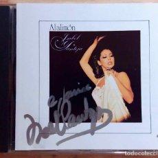 CDs de Música: ISABEL PANTOJA, AL ALIMÓN - CD AUTOGRAFIADO POR LA ARTISTA EN PORTADA. Lote 63266488