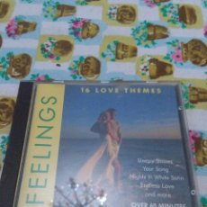 CDs de Música: FEELINGS 16 LOVE THEMES. B4CD. Lote 63336412