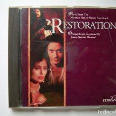 CDs de Música: RESTORATION, BSO JAMES NEWTON HOWARD, MILAN RECORDS 1995. Lote 63345812