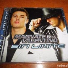 CDs de Música: MAGNATE & VALENTIN SIN LIMITE CD ALBUM DEL AÑO 2005 CONTIENE 16 TEMAS. Lote 63469160