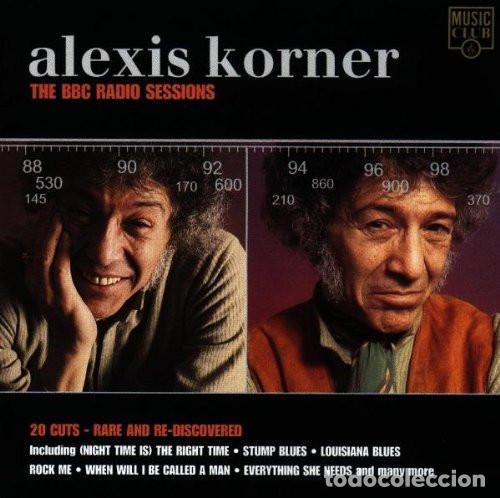 ALEXIS KORNER - THE BBC RADIO SESSIONS (CD) (Música - CD's Jazz, Blues, Soul y Gospel)