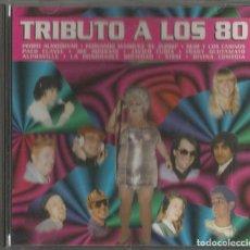 CDs de Música: TRIBUTO A LOS 80. PEDRO ALMODOVAR, GLUTAMATO, EL ZURDO, SISSI, PACO CLAVEL...BARSA PROMOCIONES 1997.. Lote 63549740