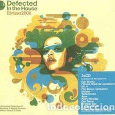 CDs de Música: DEFECTED IN THE HOUSE - EIVISSA 2006 (3 CDS). Lote 63649287
