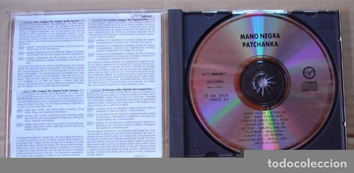 CDs de Música: MANO NEGRA - PATCHANKA (CD 1988) - Foto 2 - 63654095