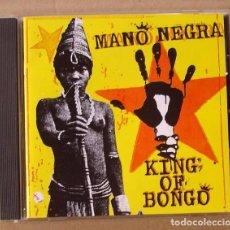 CDs de Música: MANO NEGRA - KING OF BONGO (CD 1991). Lote 63654359