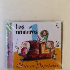 CDs de Música: LOS NÚMEROS 1 DE CLÁSICOS POPULARES - 2 CD'S. PRECINTADO.. Lote 63730239