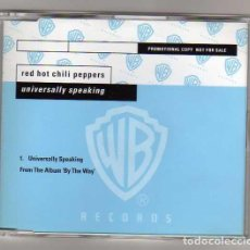 CDs de Música: RED HOT CHILI PEPPERS CD SINGLE UNIVERSALLY SPEAKING. Lote 26170787