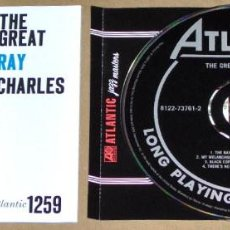 CDs de Música: THE GREAT RAY CHARLES (REMASTERED) - JAZZ. Lote 63793243
