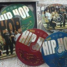CDs de Música: ESTILO.HIP HOP. 3 CD Y 1DVD. Lote 64007354