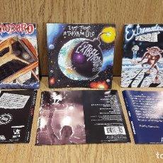 CDs de Música: SÓLO CARÁTULAS. EXTREMODURO - CONJUNTO DE 3 CARÁTULAS COMPLETAS DE MUY BUENA CALIDAD.. Lote 64033211