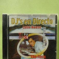 CDs de Música: DJ'S EN DIRECTO - LATIN - HOUSE - DJ VICTOR PÉREZ - THE FACE - CD BUEN ESTADO. Lote 64046507