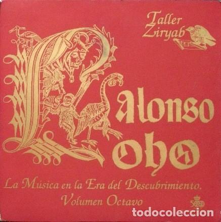 NUEVO SIN PRECINTAR TALLER ZIRYAB ALONSO LOBO LA MÚSICA EN LA ERA DEL DESCUBRIMIENTO VOLUMEN OCTAVO (Música - CD's Clásica, Ópera, Zarzuela y Marchas)