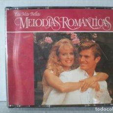 CDs de Música: LAS MAS BELLAS MELODIAS ROMANTICAS - MUSICA DE ORQUESTAS - CAJA CON 3 CD´S. Lote 64065619