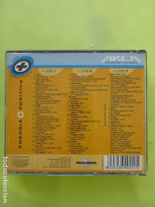 CDs de Música: AREA THE SECRET ENERGIA POSITIVA VALE MUSIC - 3 CD - BUEN ESTADO - - Foto 2 - 119867935