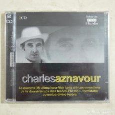 CDs de Música: CHARLES AZNAVOUR - 2 CDS 2003 NUEVO. Lote 64115323