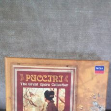 CDs de Música: PUCCINI - THE GREAT OPERA COLLECTION: BOHÈME, TOSCA, M. BUTTERFLY, MANON LESCAUT... - DECCA, 2008. Lote 64131643